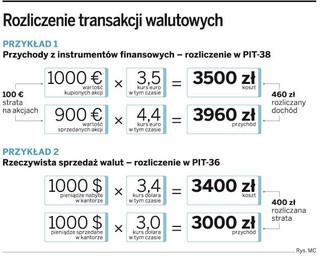Zyski i straty walutowe należy wykazać w PIT za 2009 rok