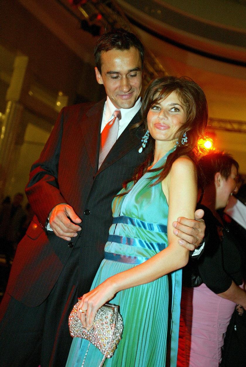 Weronika Rosati i Mariusz Max Kolonko
