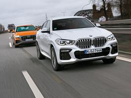 Audi Q8 kontra BMW X6 - za grube, by być piękne?