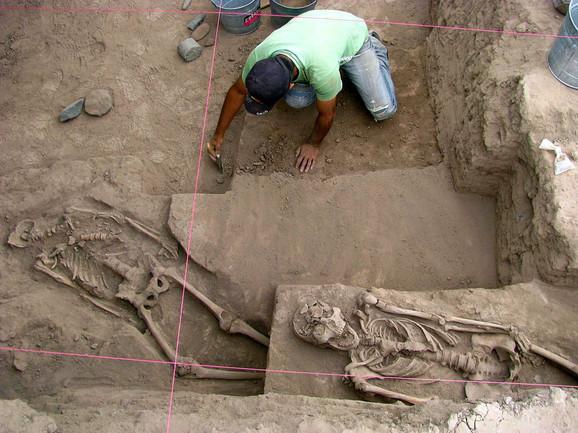 Iskopavanje u Meksiku