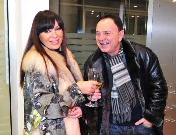 Mile Kitić i Marta Savić