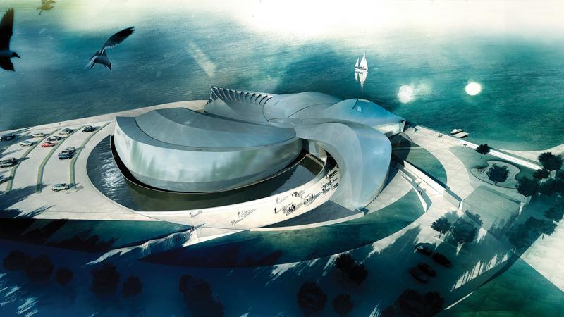 Oceanarium Blue Planet w Kopenhadze