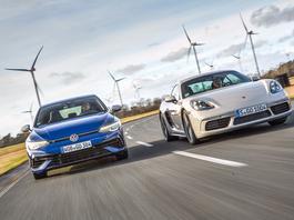 Czy Volkswagen Golf R potrafi być jak Porsche Cayman? Tego się nie spodziewacie!