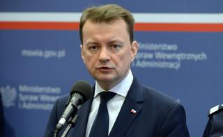 Błaszczak: Rząd nie narazi bezpieczeństwa Polaków. Nie będziemy przyjmować emigrantów