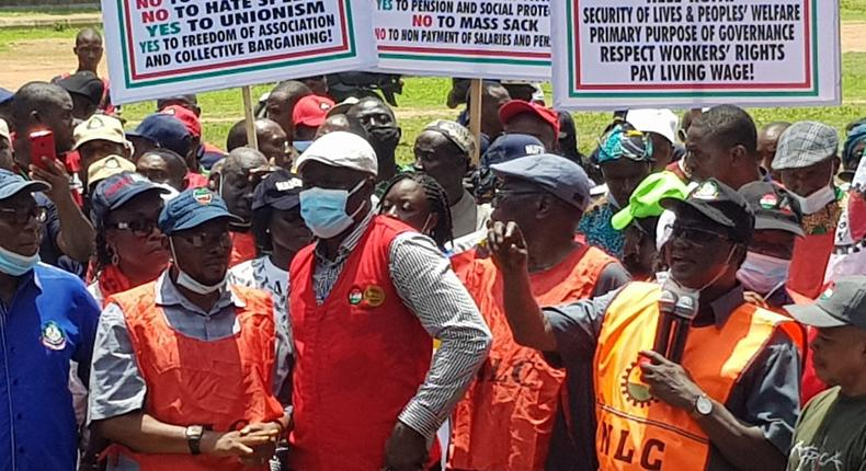 NLC shuts down public offices in Cross River. [NLCHeadquarters]