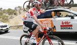 Polski kolarz wycofany z Giro d'Italia. Powodem powikłania po chorobie COVID-19