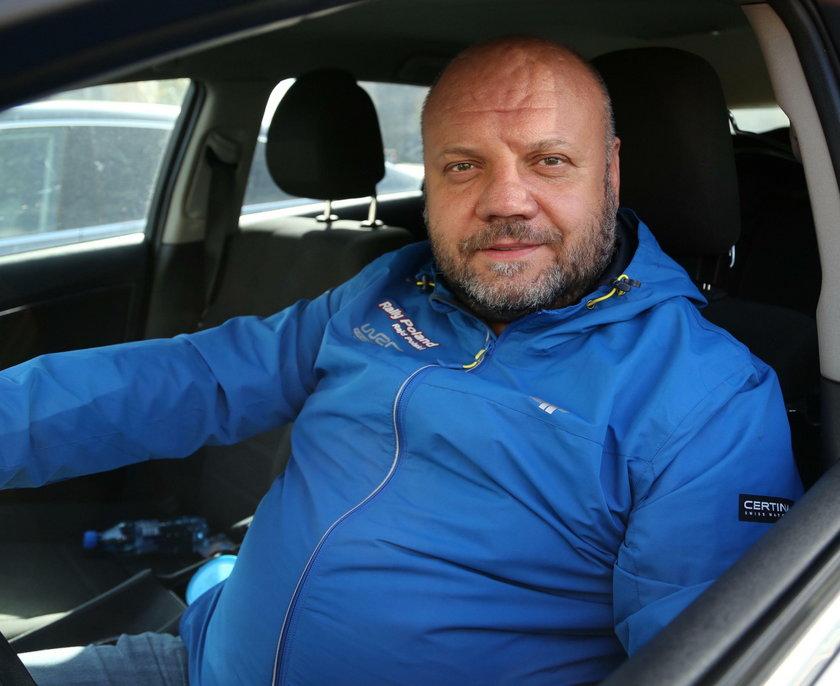 Andrzej Rohn (44 l.) stołeczny kierowca