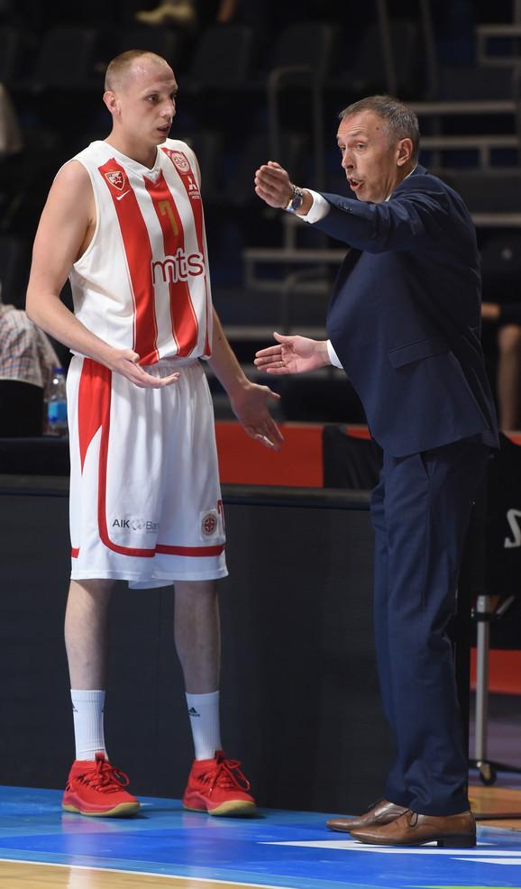 Milan Tomić sa Dejanom Davidovcem