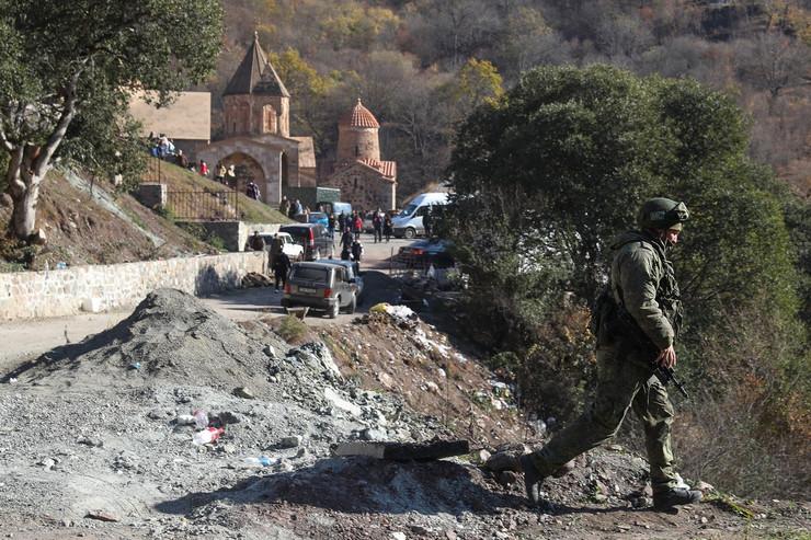 Ruski mirotvorci u Nagorno-Karabahu