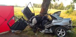 15-latek za kierownicą audi. Zginął na miejscu