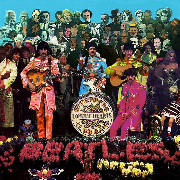 "17. The Beatles - ""Sgt. Pepper's Lonely Hearts Club Band"" (1967): 32 miliony płyt"