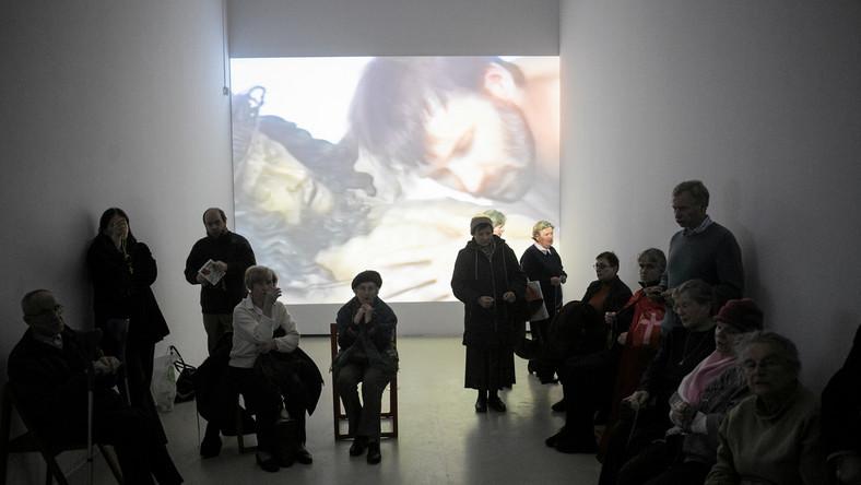 Protest w Centrum Sztuki Współczesnej