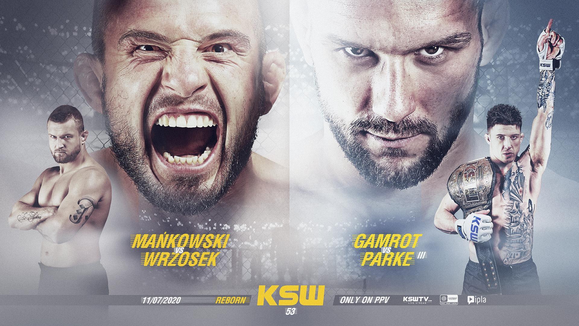 MMA. KSW 53: wiemy, kiedy odbędzie się gala, świetne zestawienia na  początek - Sport