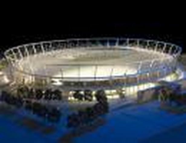 Projekt modernizacji Stadionu Śląskiego w Chorzowie. Fot. Materiały prasowe PL.2012