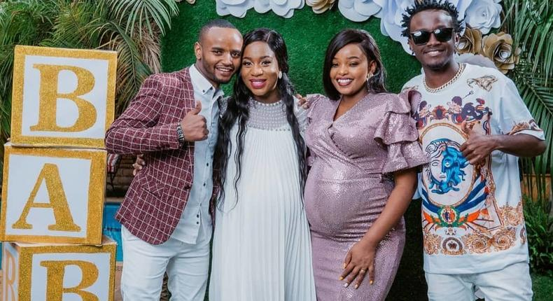 How Kabi and Milly wa Jesus gender reveal Party went down (Photos/videos)