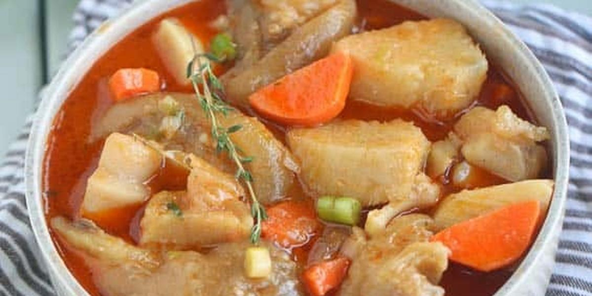 DIY Recipes: How to make Cow foot soup