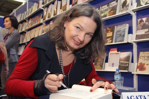 """Agata Tuszyńska, autorka książki """"Oskarżona Wiera Gran"""""""