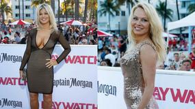"""Pamela Anderson i inne gwiazdy na premierze """"Słonecznego patrolu"""""""