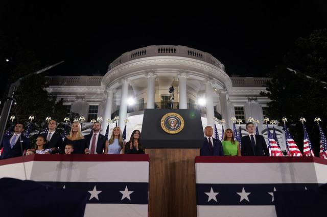 Trampovi na Republikanskoj nacionalnoj konvenciji krajem avgusta u Vašingtonu