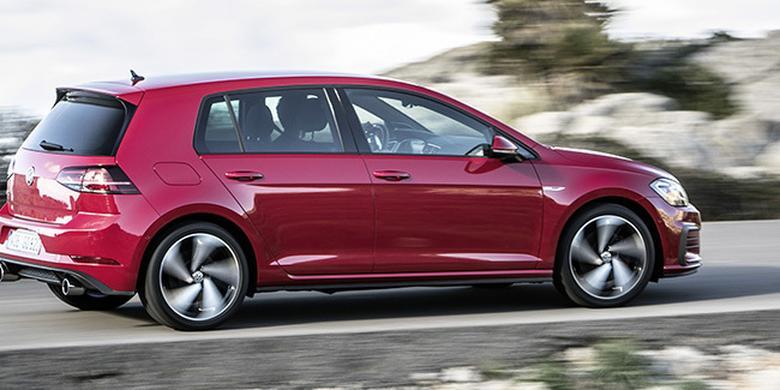 Volkswagen Golf GTI Performance na start