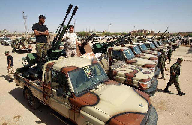 Snage LNA u Bengaziju