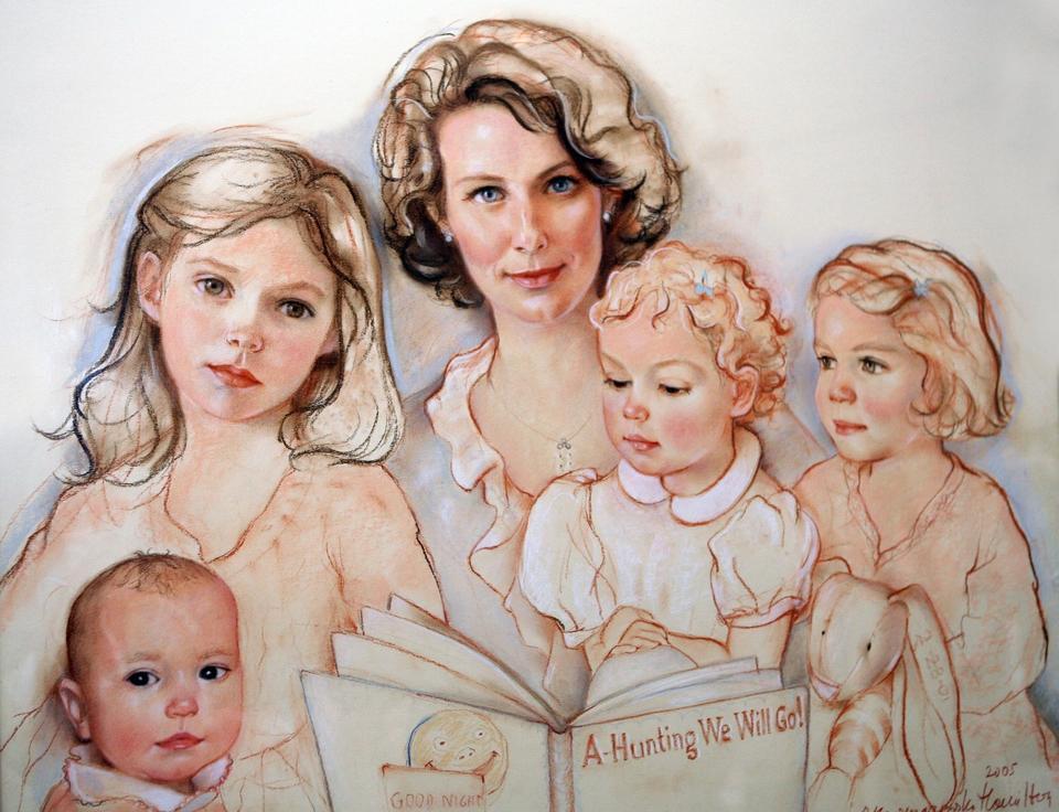 Sarah Green z córkami