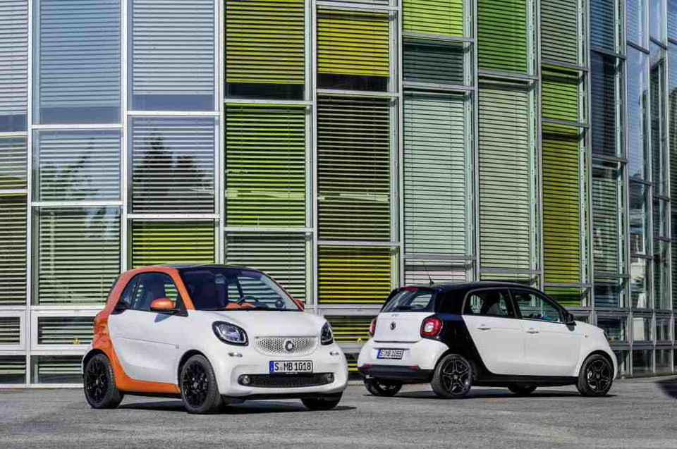 Smart Forfour i Fortwo