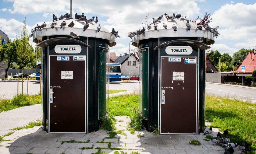 Miejskie toalety w Krakowie