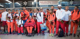 Polscy paraolimpijczycy wrócili! Bohaterzy powitani
