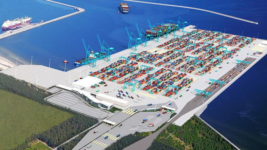 Jedna firma jest zainteresowana prowadzeniem terminala kontenerowego w Świnoujściu