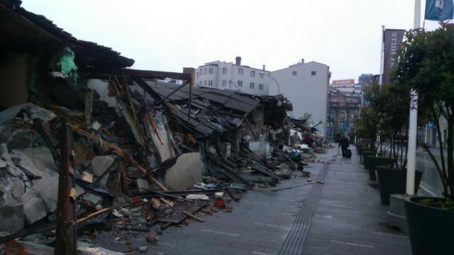 Srušene zgrade u Hecegovačkoj ulici