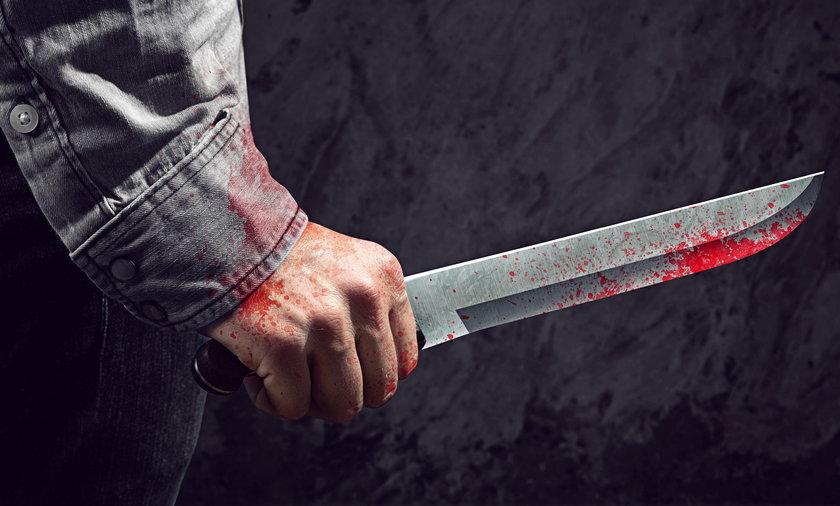 Ugodził byłą żonę nożem