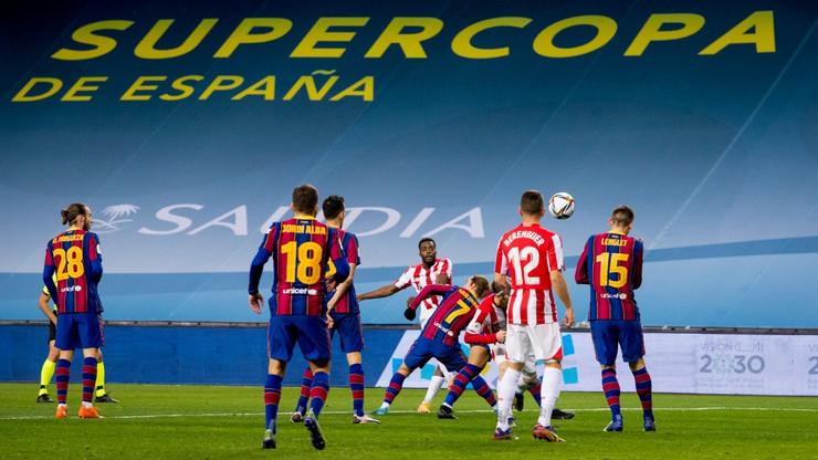 Superkup Atletiko Bilbao Barselona