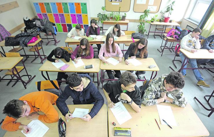 Test za Prijemni ispit za upis u srednju_310114_Ras foto Oliver Bunic55