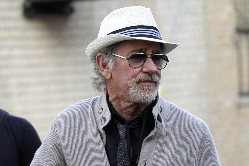 Steven Spielberg (68 l.), amerykański reżyser