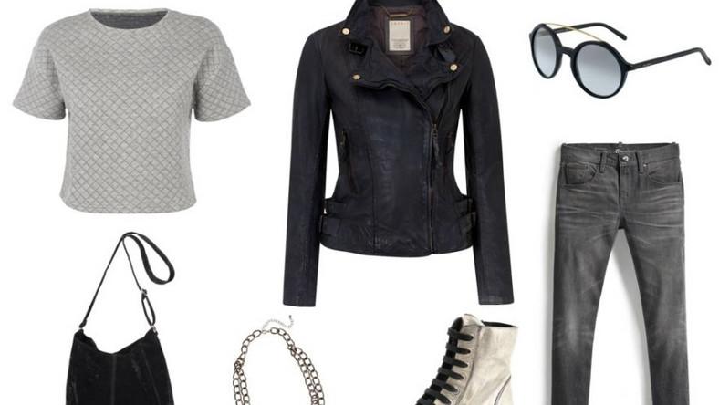 Bluzka New Look: 79,99pln kurtka Esprit: 999pln okulary Gucci: 1390pln torebka New Yorker : 79,95pln naszyjnik Claire's: 24,90pln buty PRIMAMODA: 449pln spodnie Levi's®: 439pln