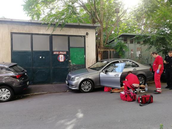 Ljubica M. upucana je kada je krenula da uđe u automobil