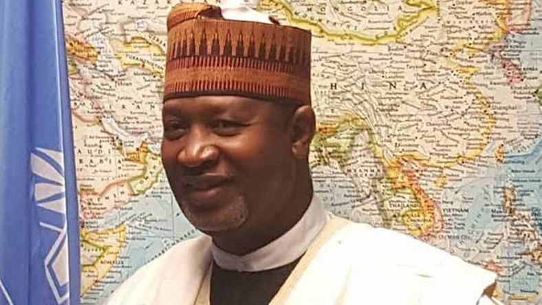 Image result for The Minister of Aviation, Hadi Sirika