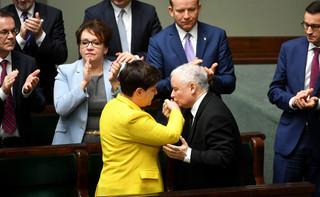 Spotkanie na Nowogrodzkiej. Premier Szydło złożyła wizytę Jarosławowi Kaczyńskiemu