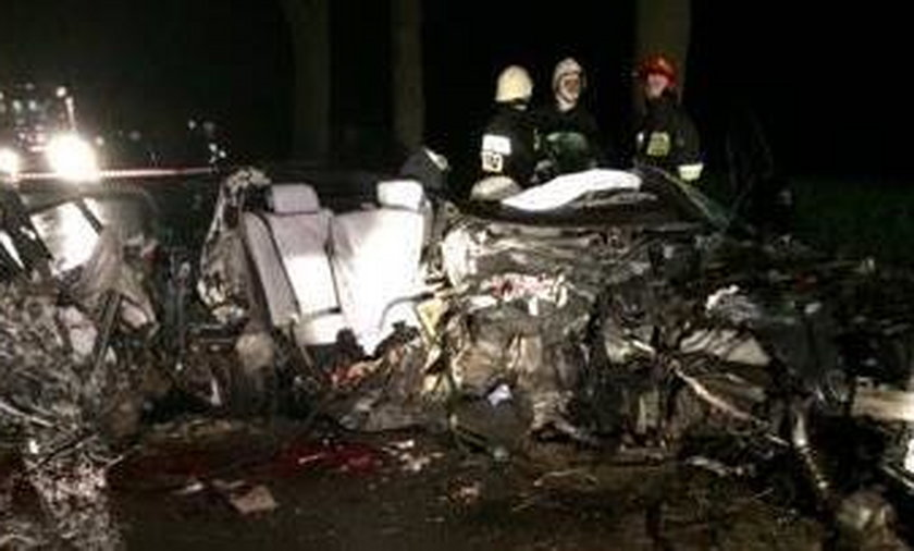 Wypadek w Makówcu
