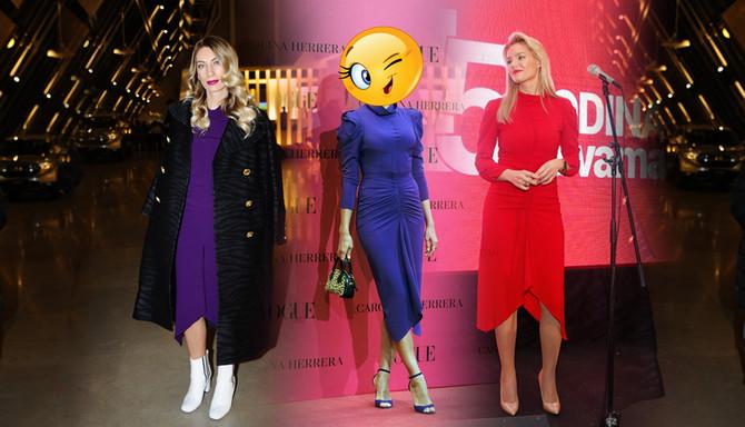 Tri dame, isti modni ukus