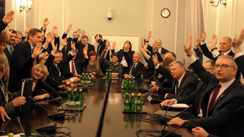 Posiedzenie zespołu parlamentarnego