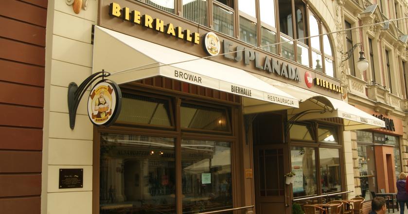 Lokal Bierhalle w Łodzi