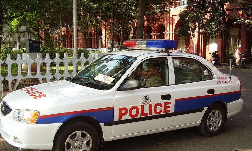 Indyjska policja