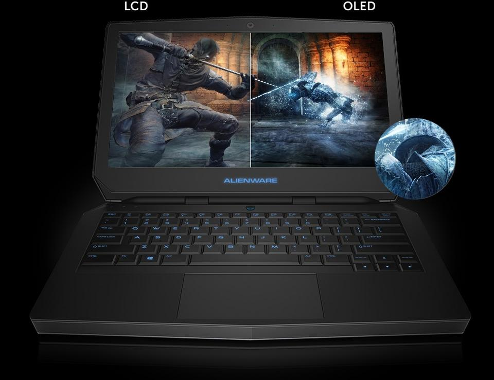 13-calowy gamingowy notebook Alienware