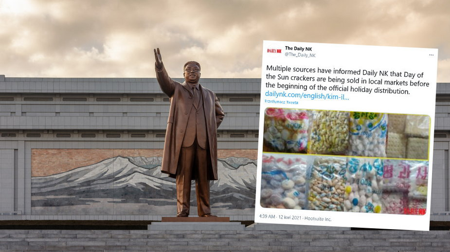 Pomnik Kim Ir Sena w Pjongjangu