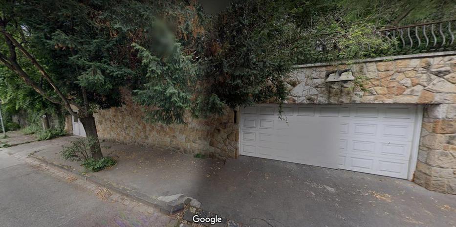 A Google maps Gyurcsány Ferenc villájánál