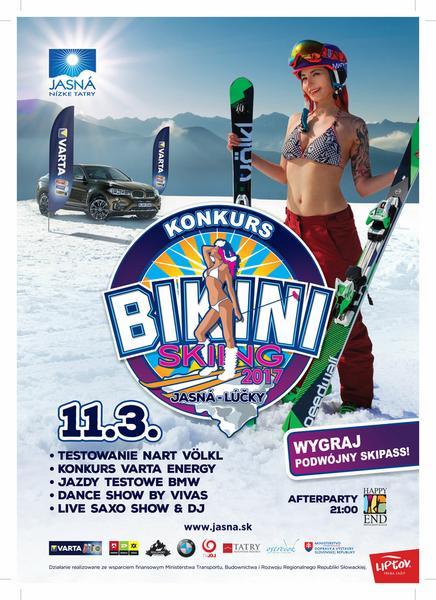 Bikini skiing
