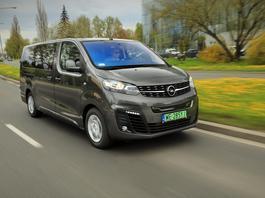 Opel Zafira-e Life – na 9 osób i na prąd