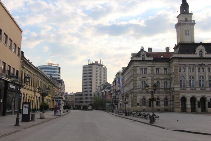 Novi Sad, policijski čas, nedelja, korona virus